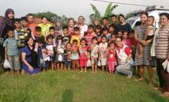 Pengobatan Gratis di Rumah Belajar Cibadak